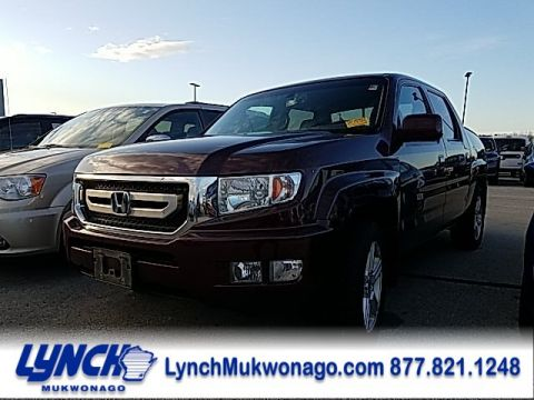 Pre-Owned 2010 Honda Ridgeline RTL w/Leather